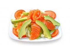 112 Salade saumon avocat