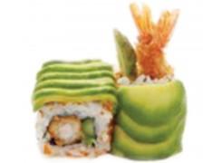 603 avocat asperges,tobiko, crevette tempura et mayo